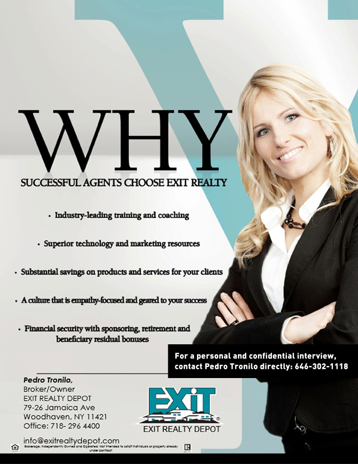 exit realty depot is recruiting new agents to join their elite team